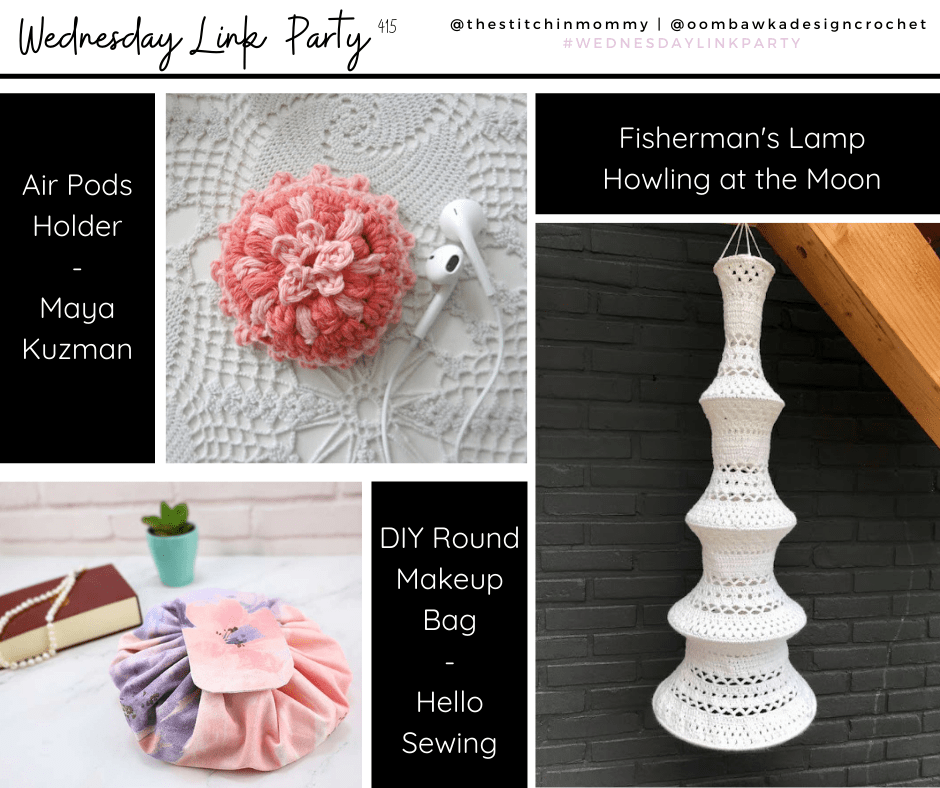 Wednesday Link Party 415 Fisherman's Lamp, Round Drawstring Bag, Ear Pods Holders