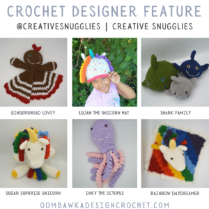 Cute Crochet Toys for Kids Designer Feature - Creative Snugglies