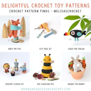 Delightful Crochet Toy Patterns