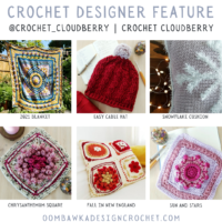 Original Crochet Designs from Crochet Cloudberry