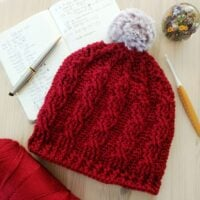 Easy Cable hat Catherine Venner