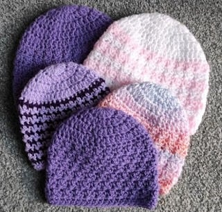 Haven Crochet Baby Hat Wednesday Link Party 420