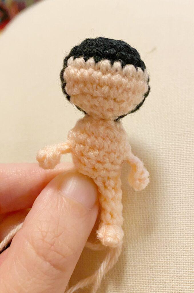 Body - Tiger Lily Ami - Pocket Yarnlings