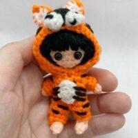 Tiger Lily Amigurumi Pattern