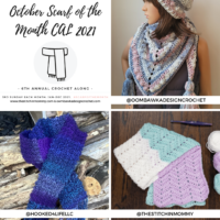 October Scarf of the Month CAL 2021