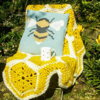 Buzzy Bee Cushion