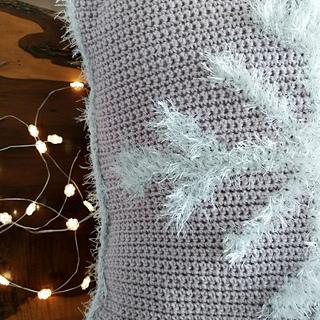 Snowflake Cushion Cover