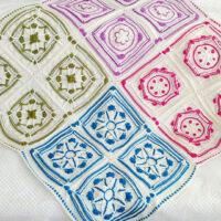 Winter Jewels Granny Squares